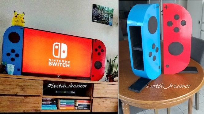 "Switch 2 &quot;title =&quot; Switch 2 &quot;height =&quot; 374 &quot;width =&quot; 665 &quot;class =&quot; 40 &quot;data-item =&quot; 1153681 &quot;/&gt;    <figcaption> (Photo: Reddit) </figcaption></figure> <p> We can&#39;t help but wonder what logbies might build next. feedback on his post. </p> <p> Some noted things like ""This is really cool"" and ""Nice work. I guarantee someone will repost this in / r / gaming with a title like &#39;this tv&#39; and get 10k upvotes."" Others, however, got constructive with their words, with one user suggestion that this is the new Nintendo Switch XL that Nintendo might release later this year, and another wondering if it supports bluetooth.It&#39;s all in good fun, though. </p><div><script async src="