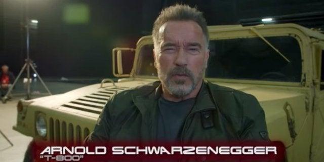Terminator 6 Behind-the-Scenes Video Arnold Schwarzenegger New Look