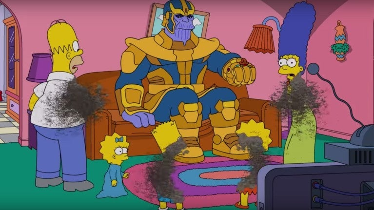 Thanos The Simpsons