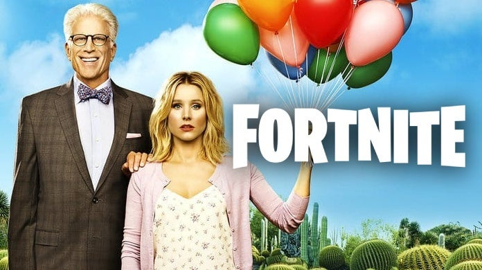 the good place fortnite floss easter egg