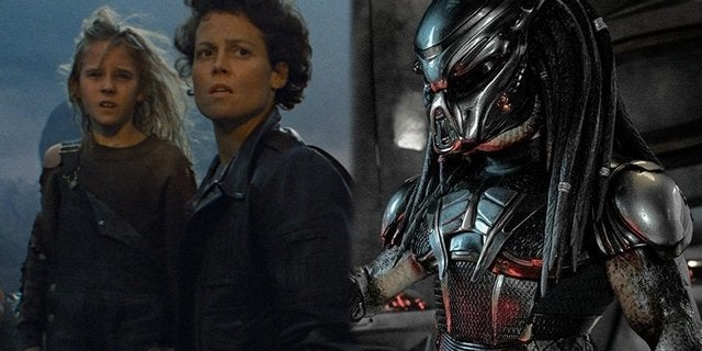 the predator aliens ripley newt