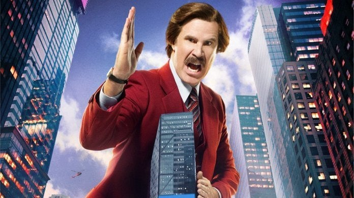 The Ron Burgundy Podcast Trailer