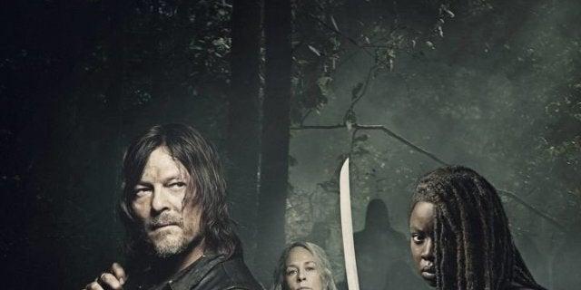 The Walking Dead 9B poster