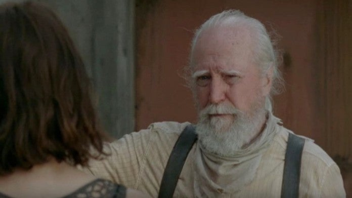 The Walking Dead Hershel you risk your life