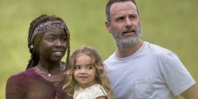 The Walking Dead Rick Grimes family