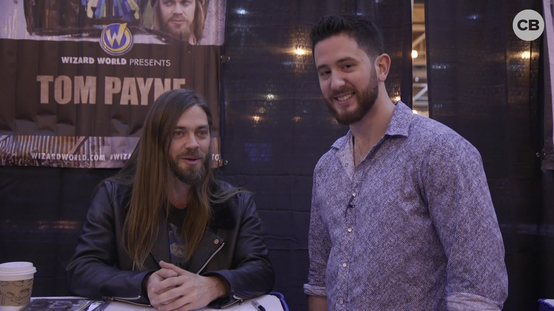 Tom Payne - Wizard World 2019 Exclusive Interview screen capture