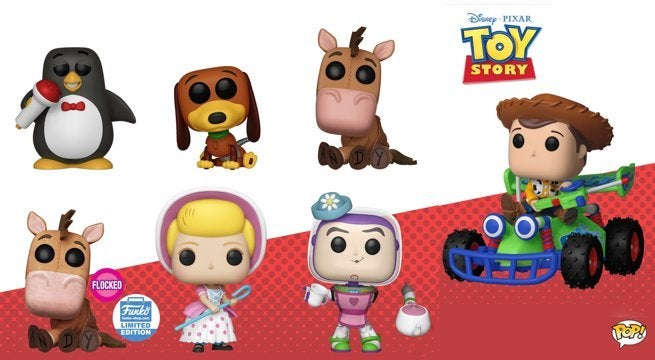 Funko Drops New Pop Figures Ahead Of Toy Story 4