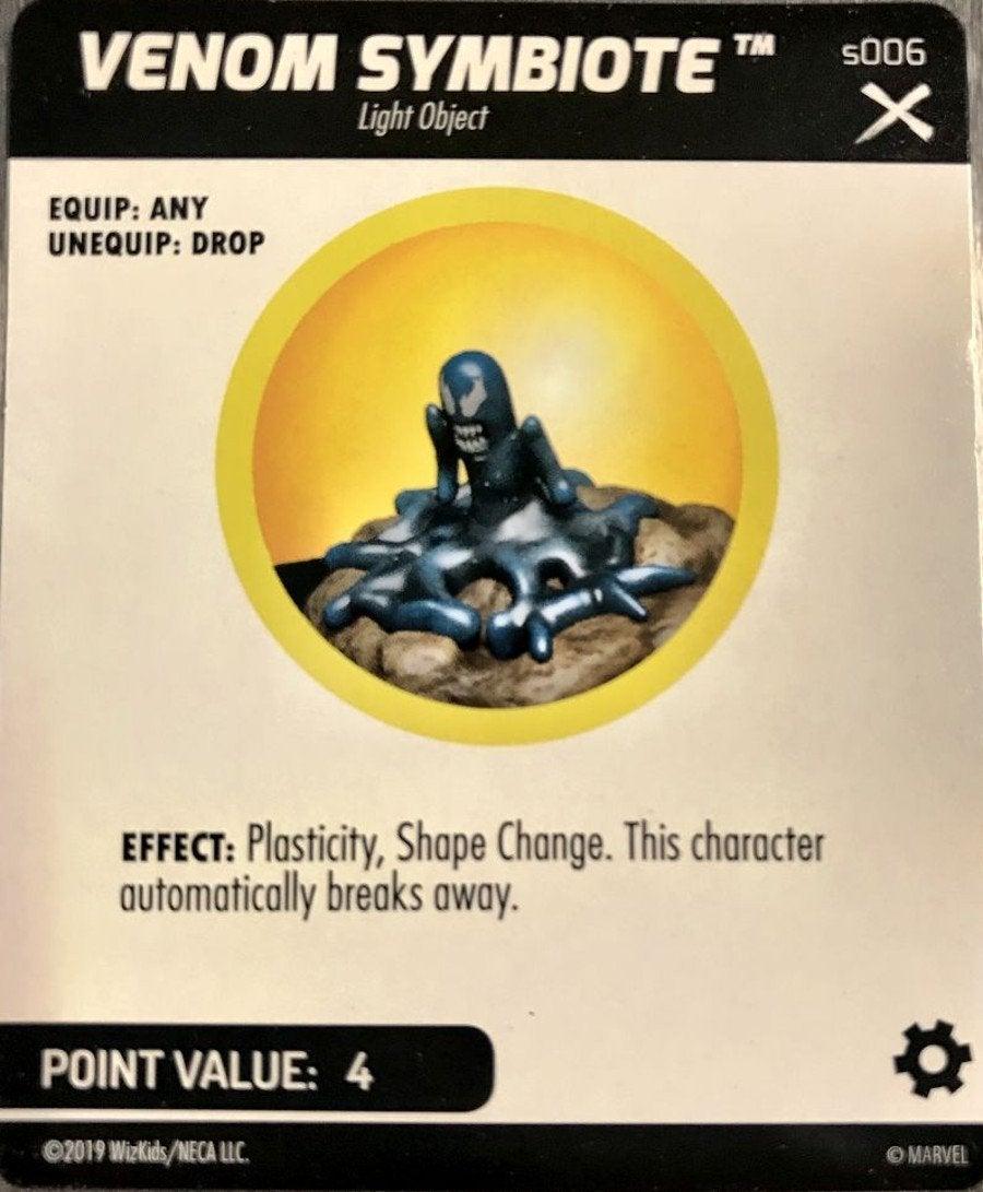 Venom Symbiote Earth X HeroClix
