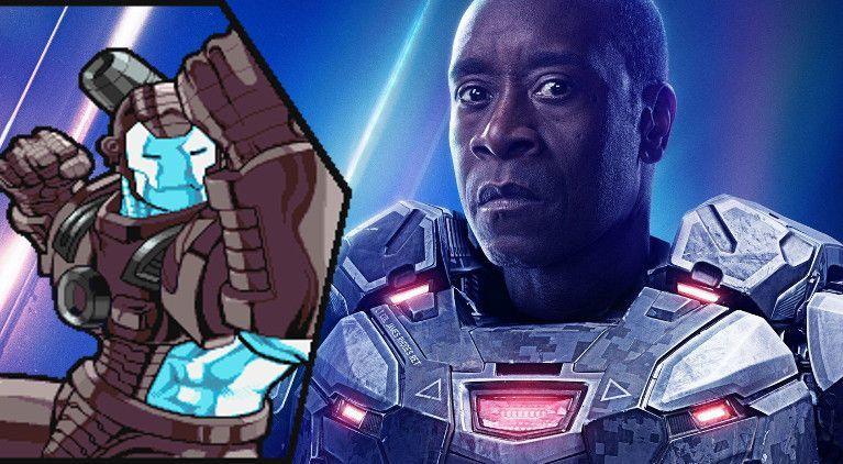 War Machine War Destroyer Avengers Endgame