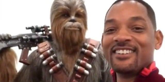 Will Smith Chewbacca Video