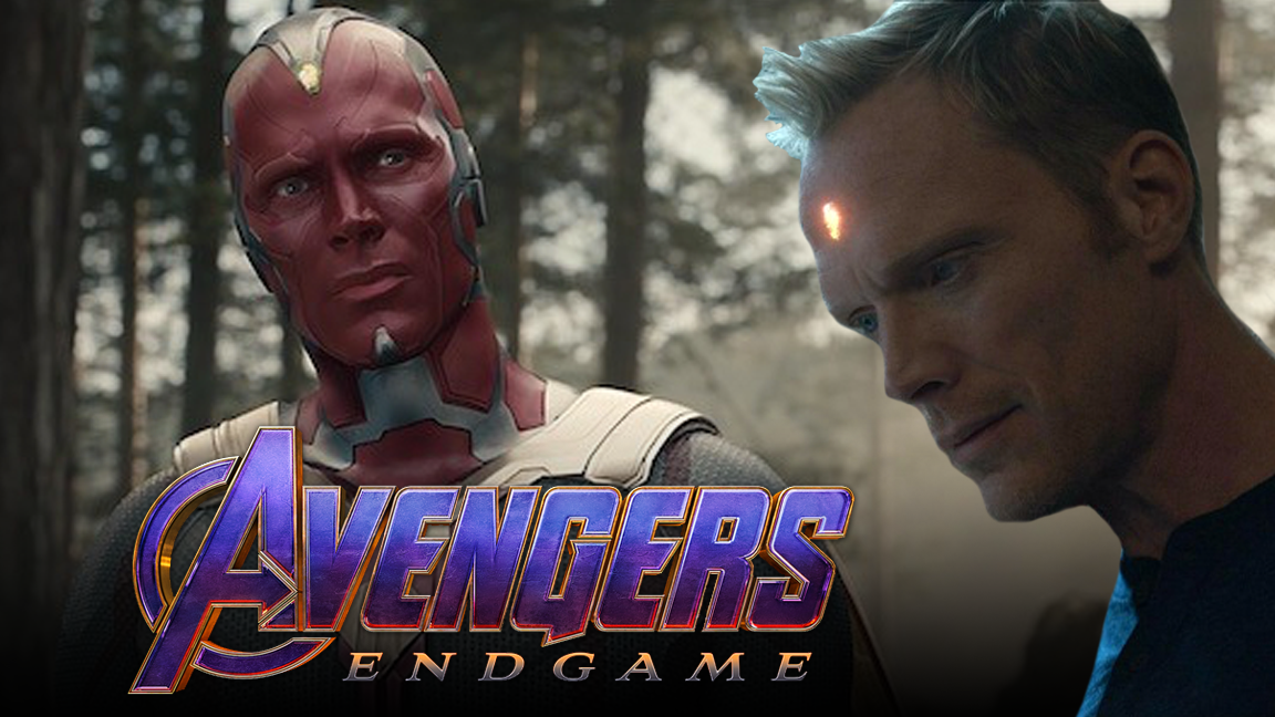 Will Vision Stop Thanos in Avengers: Endgame? - One Shot screen capture