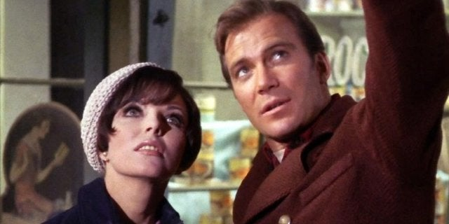 William Shatner Kirk Star Trek City on the Edge of Forever