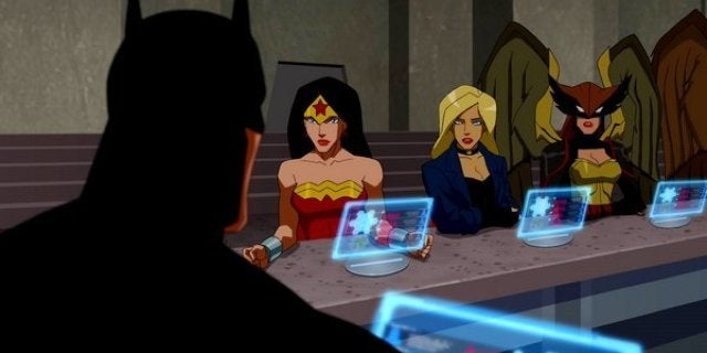 'Young Justice: Outsiders' Reveals Conflict Between Batman and Wonder Woman