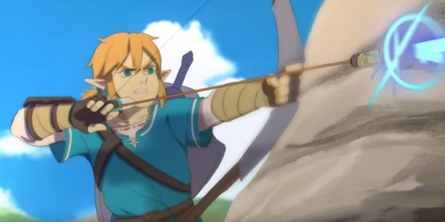 'The Legend of Zelda: Breath of the Wild' Looks Even More Stunning With This Fan-Made Animated Video