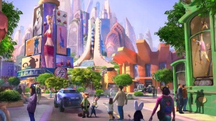 Zootopia Shanghai Disneyland
