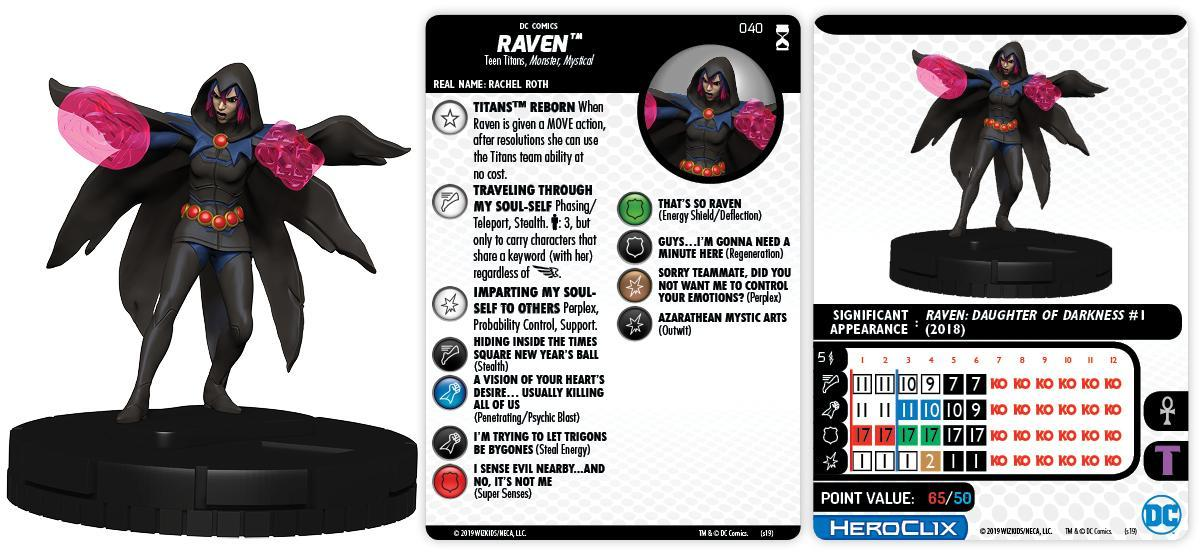 Heroclix DC Rebirth Power Girl #006 Common w// Card