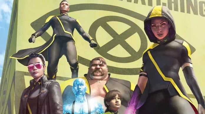 age of x man x tremists cover