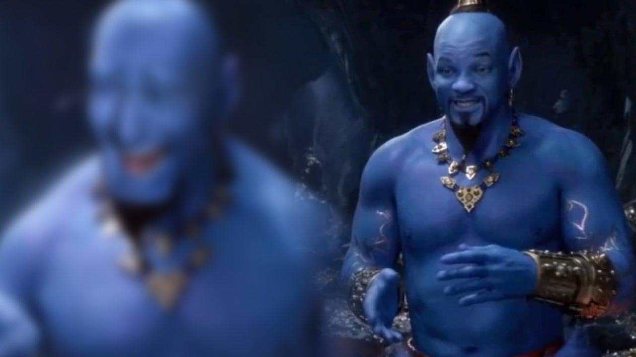 Aladdin Fan Art Imagines Robin Williams As Live Action Genie