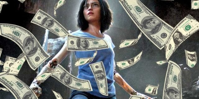 Alita Battle Angle Box Office