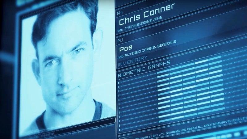 Altered Carbon Season 2 Cast - Chris Conner as Poe
