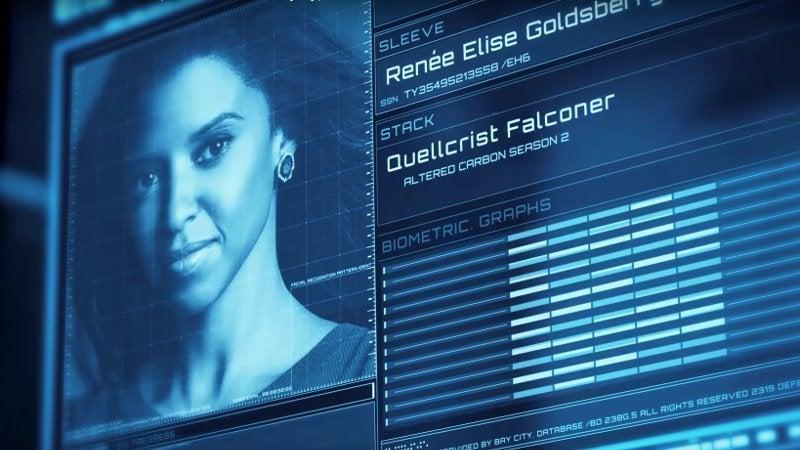 Altered Carbon Season 2 Cast - Renee Elise Goldsberg as Quellrist Falconerjpg