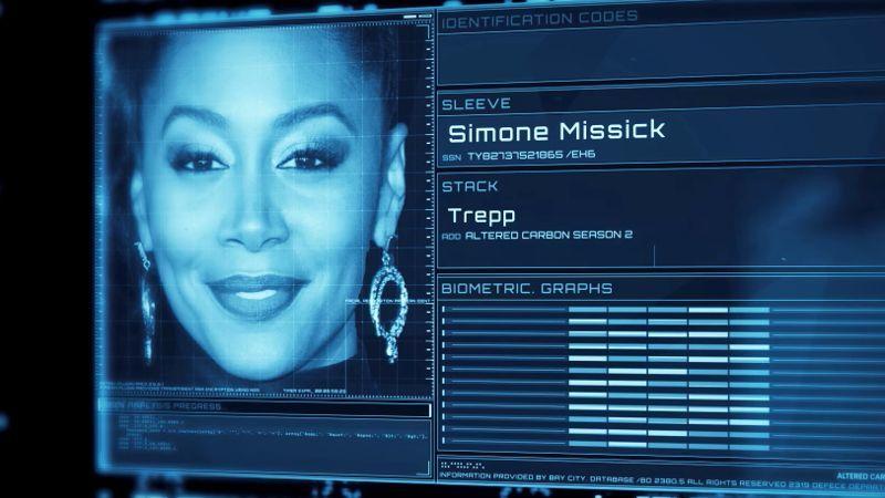 Altered Carbon Season 2 Cast - Simone Missick is Trepp