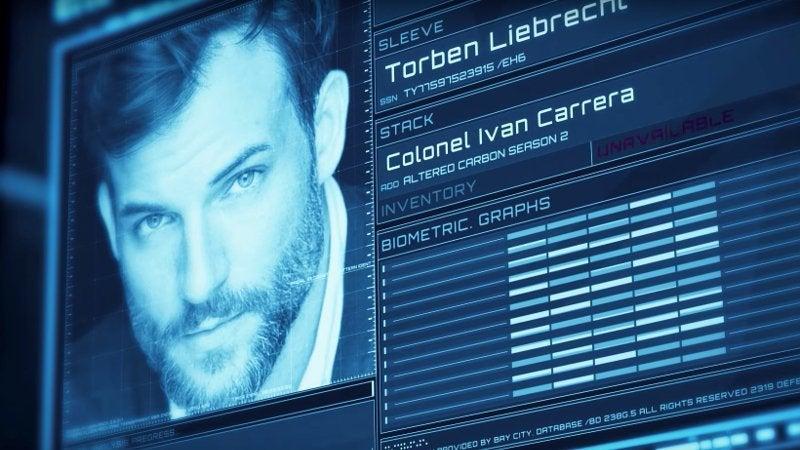 Altered Carbon Season 2 Cast - Torben Liebrecht as Colonel Ivan Carrera