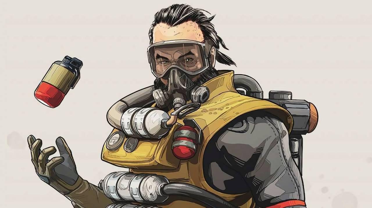 Apex Legends Battle Royale Respawn Caustic Nox Gas Trap
