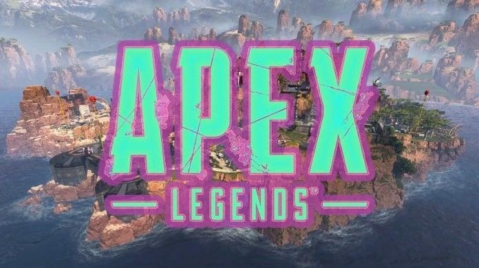 apex legends blue and pink logo