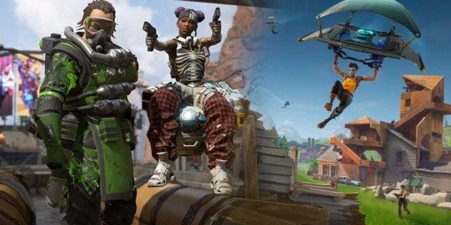 Apex Legends Fortnite Respawn Entertainment Epic Games Battle Royale
