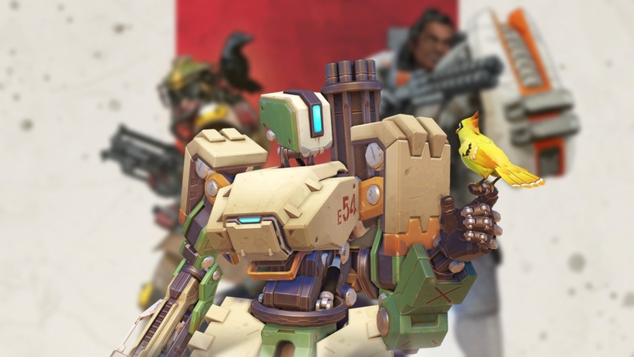 Apex Legends' Has an Adorable Bastion From 'Overwatch' Tribute