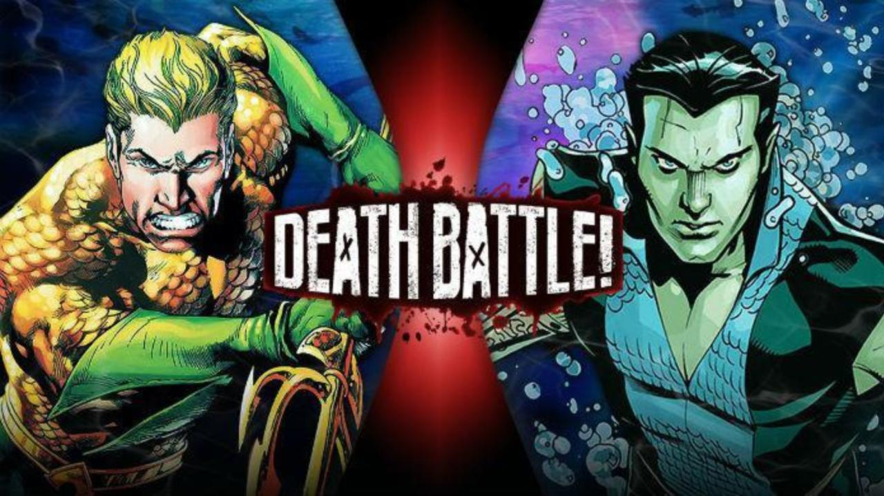 Watch Aquaman And Namor Fight In Latest Death Battle