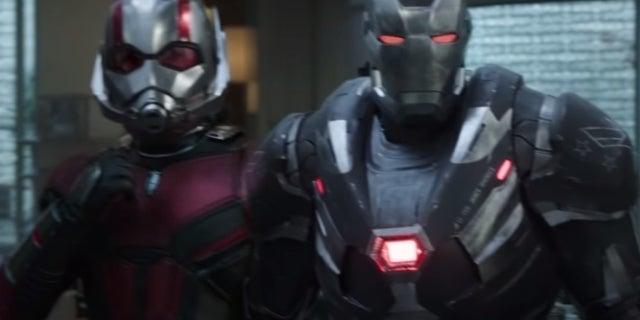 Avengers Endgame Ant Man War Machine