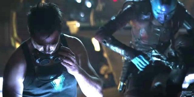 avengers endgame iron man nebula