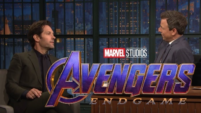 avengers endgame title paul rudd seth meyers