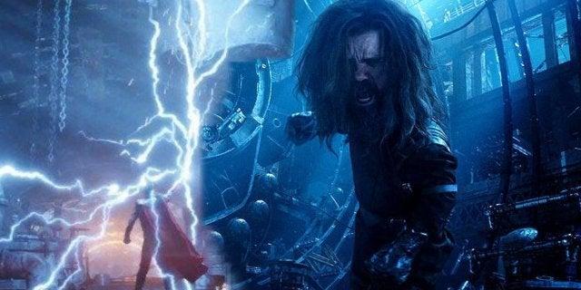 Avengers Infinity War Endgame Eitri Weapons Stormbreaker Guantlet