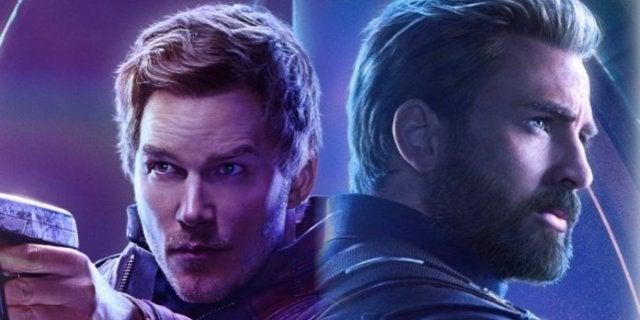 Avengers Infinity War Pratt Evans