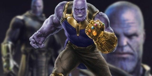 Avengers Infinity War Thanos Alternate Concept Art Designs