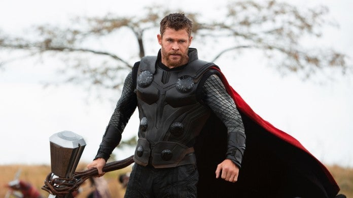Avengers Infinity War Thor Chris Hemsworth