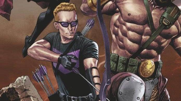Avengers No Road Home 2 Hawkeye