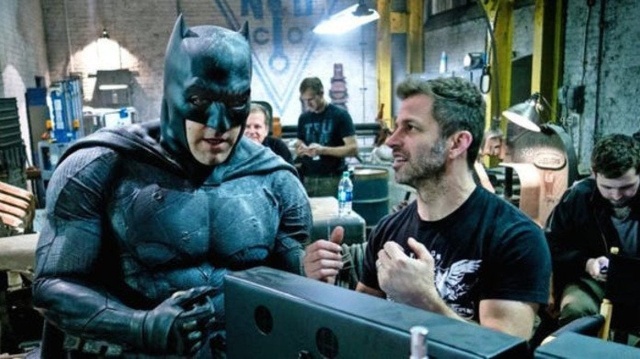 'Justice League' Director Zack Snyder Reacts to Fan Screaming Release the Snyder Cut