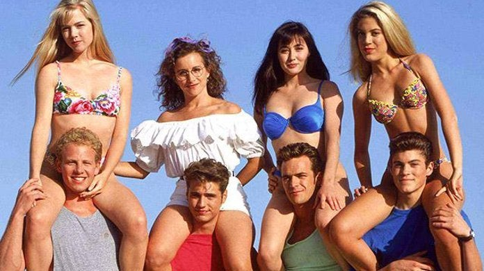 Beverly Hill 90210 reboot Original Cast