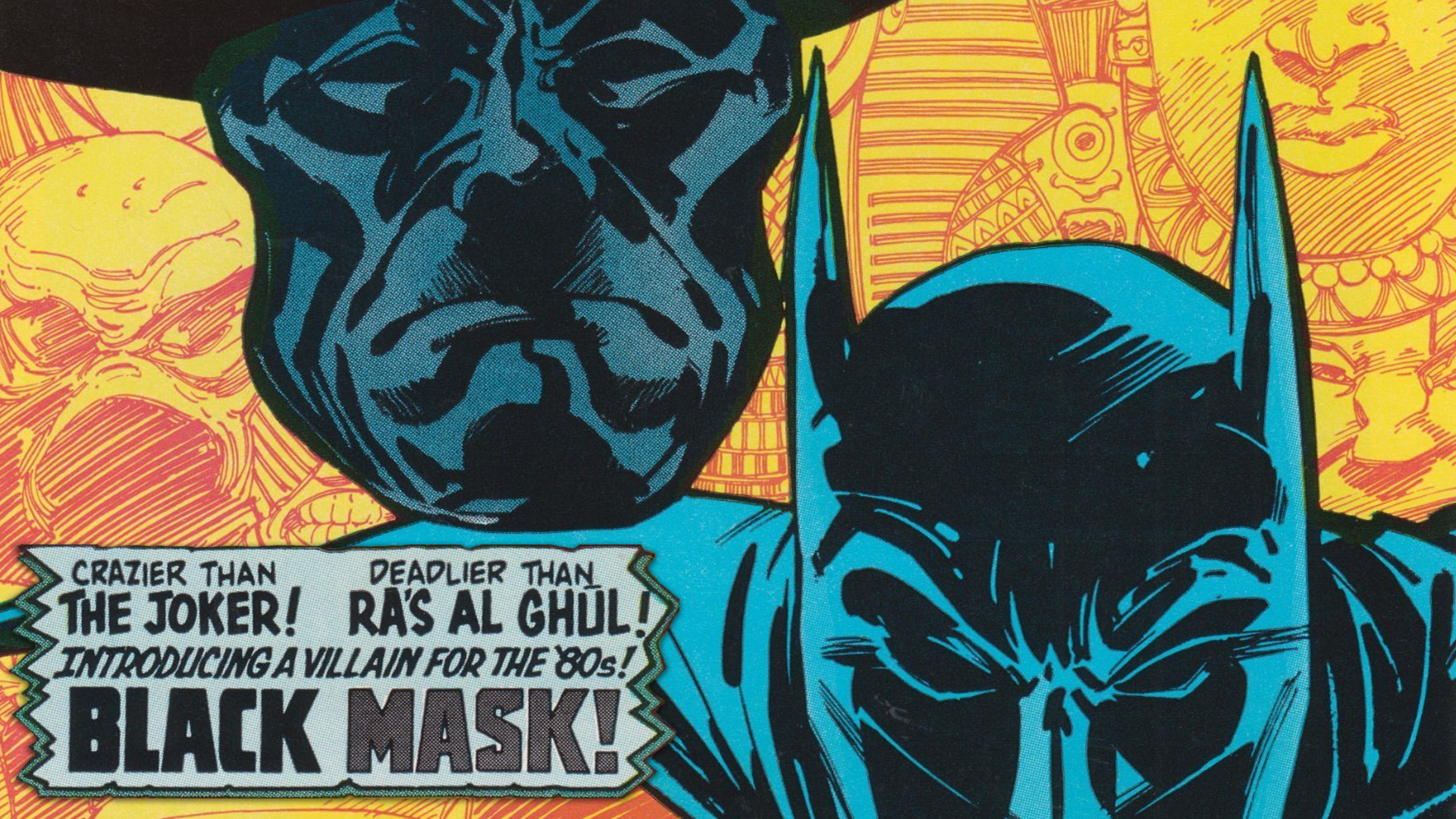 Black Mask's First Appearance - MAJOR ISSUES screen capture