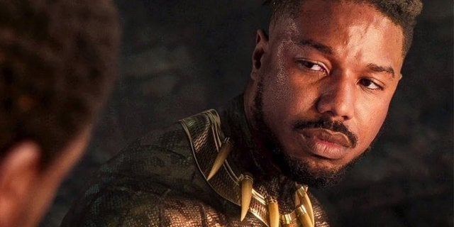 black panther killmonger michael b jordan death scene