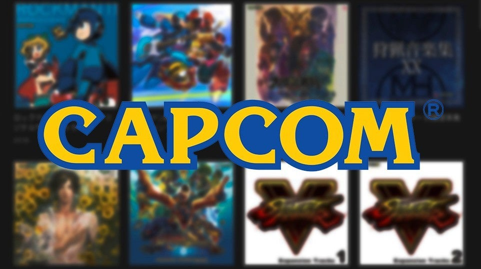 Capcom Soundtracks Spotify Mega Man Street Fighter