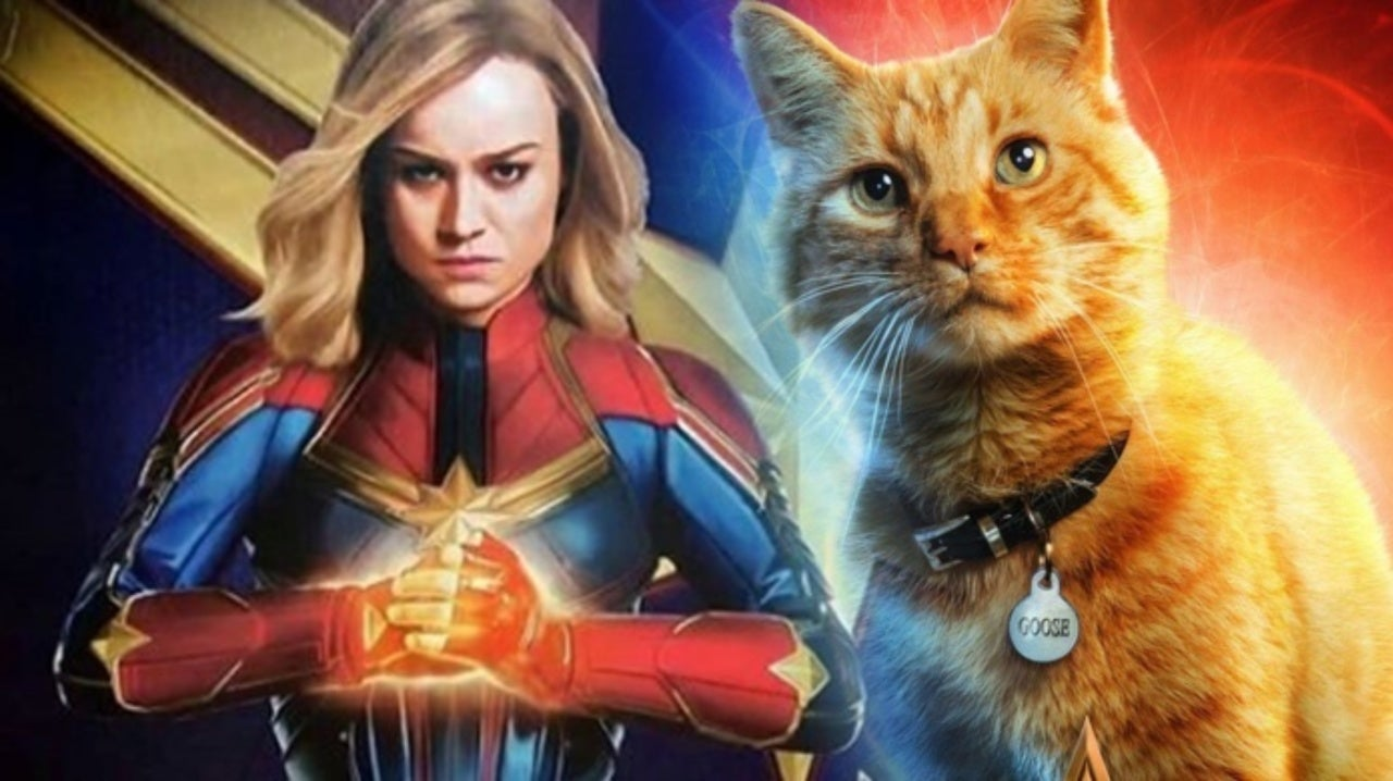Goose the Cat Becomes Captain Marvel In This Adorable Fan Art
