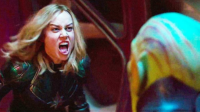 Captain Marvel Skrull Fight TV Spot