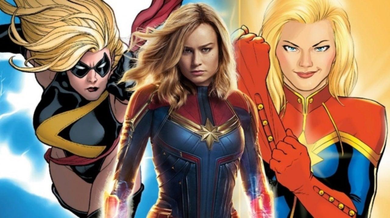 Marvel Studios Artist Reveals Captain Marvel Movie Design That Included Her Sash