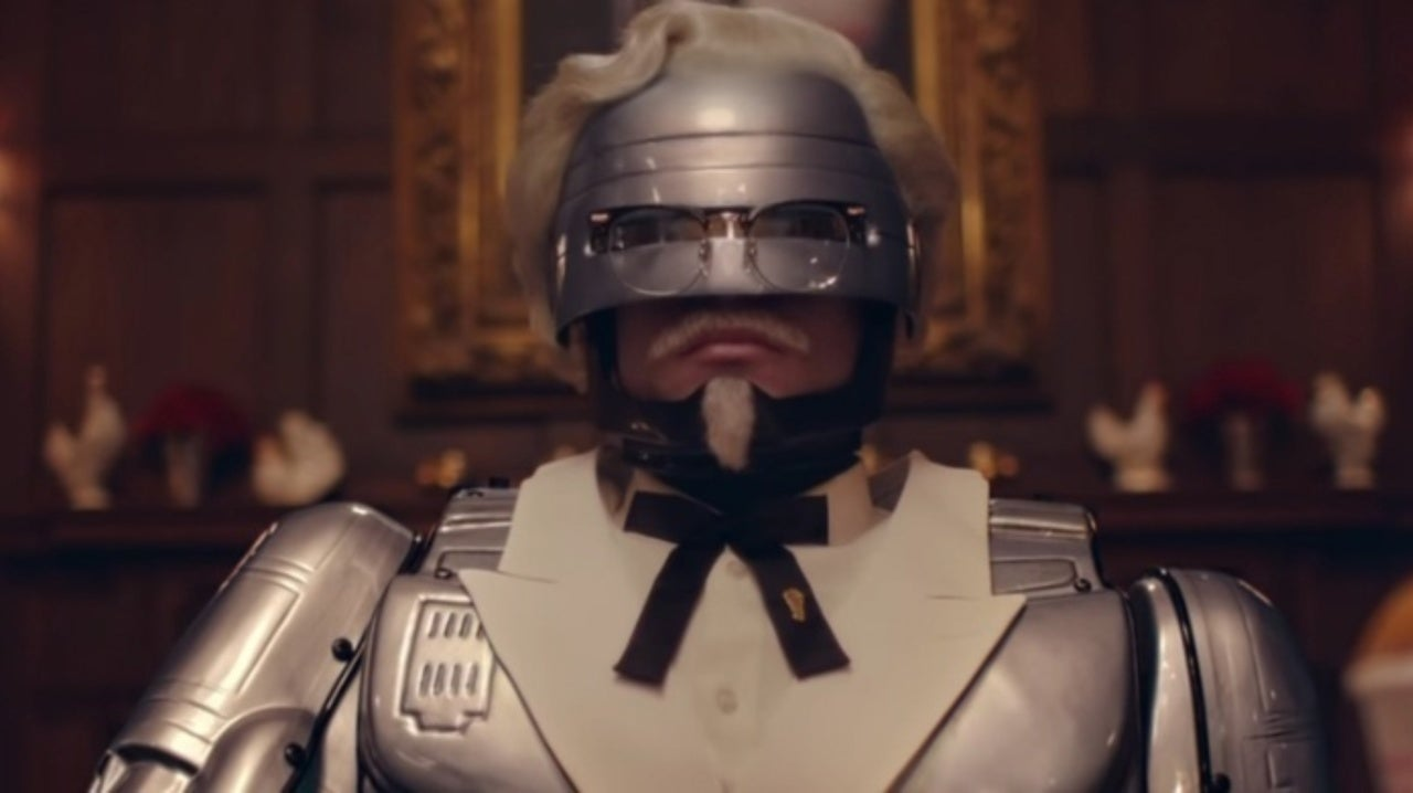 KFC Introduces RoboCop As New Colonel
