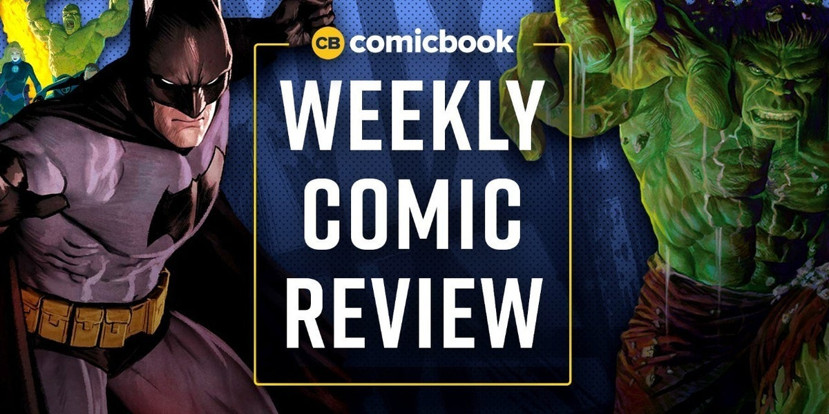 Comic Book Reviews for This Week: 8/12/2020